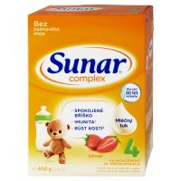 SUNAR Complex 4 Jahoda Pokračovací batolecí mléko od 24 měsíců 600 g