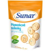 SUNAR Dětské sušenky pro první zoubky Písmenkové 150 g
