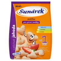 SUNÁREK Pro první zoubky Srdíčka s jahodovou příchutí 50 g
