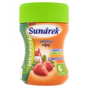 SUNÁREK Instantní nápoj Jahoda 200 g