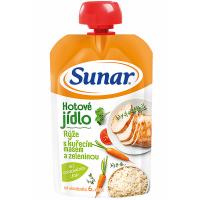 SUNAR Rýže s kuřecím masem a zeleninou 120 g