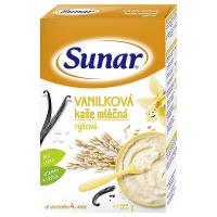 SUNAR Vanilková kašička mléčná rýžová 225 g