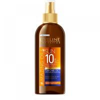 EVELINE Amazing Oils Opalovací olej SPF 10 s akcelerátorem 150 ml