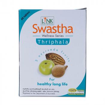 LINK NATURAL Swastha Triphala podpora trávení a detoxikace 60 kapslí