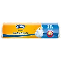 SWIRL Extra pevné sáčky na odpad suchy 35 litrů 15 ks