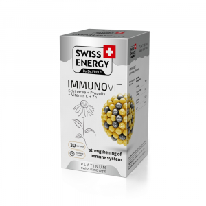 SWISS ENERGY Immunovit 30 kapslí