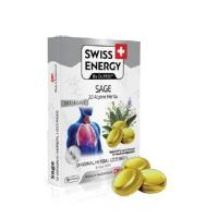 SWISS ENERGY pastilky s 20 bylinami a šalvějí 12 pastilek