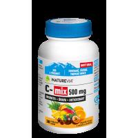 SWISS NATUREVIA C-mix 500 mg 30 žvýkacích tablet