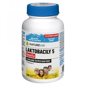 SWISS NATUREVIA Laktobacily 5 Imunita 120 kapslí