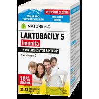 SWISS NATUREVIA Laktobacily 5 Imunita 33 kapslí VÝHODNÉ BALENÍ