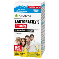 SWISS NATUREVIA Laktobacily 5 Imunita 66 kapslí
