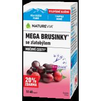 SWISS NATUREVIA Mega brusinky 60 kapslí
