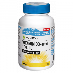 SWISS NATUREVIA Vitamín D3-Efekt 1000I.U. 90 tablet