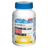 SWISS NATUREVIA Vitamin D3-Efekt 2000I.U. 90 tablet