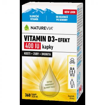 NATUREVIA Vitamin D3-Efekt 400 IU 10,8 ml