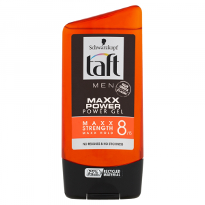 TAFT Men Maxx Power Gel na vlasy 150 ml