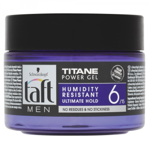TAFT Men Titane Power Gel na vlasy 250 ml