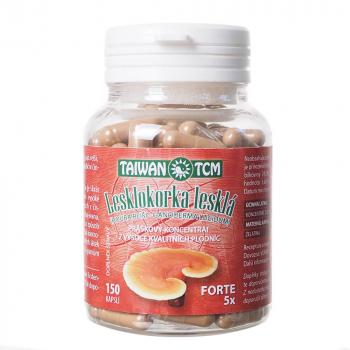 TAIWAN TCM Lesklokorka lesklá forte 5krát koncentrovaný extrakt 150 kapslí