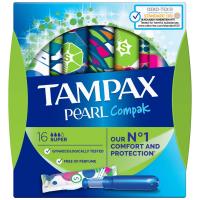 TAMPAX Pearl Compak Super tampony s aplikátorem 16