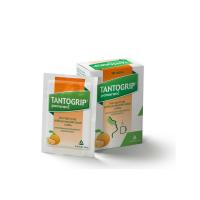 TANTOGRIP pomeranč 600 mg/10 mg 10 rozpustných sáčků