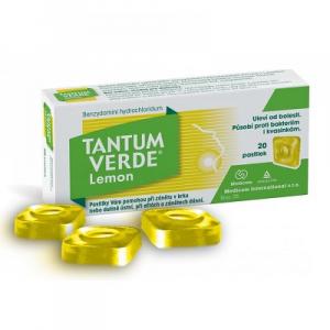 TANTUM VERDE ORM Lemon pastilky 20x 3 mg