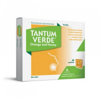 TANTUM VERDE Orange & honey pastilky 40x 3 mg