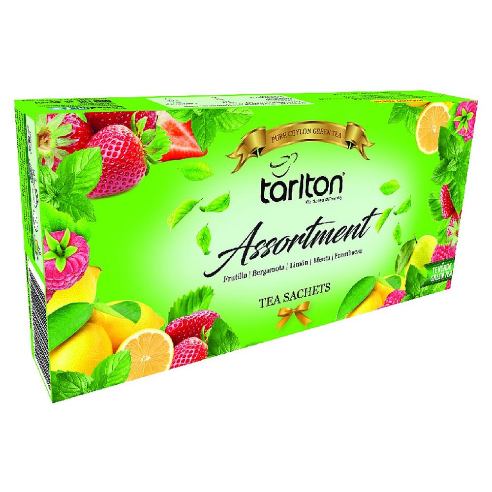 TARLTON Assortment 5 Flavour zelený čaj 100 sáčků
