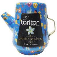 TARLTON Tea Pot Jasmine Teardrops zelený čaj plech 100 g