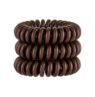 INVISIBOBBLE Power Hair Ring gumička na vlasy Pretzel Brown 3 ks