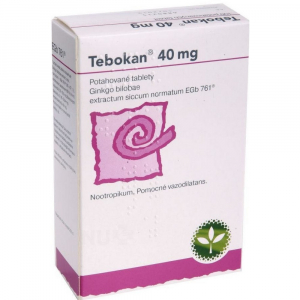 TEBOKAN 40 mg 100 potahovaných tablet
