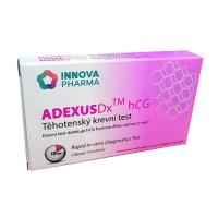 INNOVA PHARMA Adexus HCG Těhotenský krevní test 1 kus