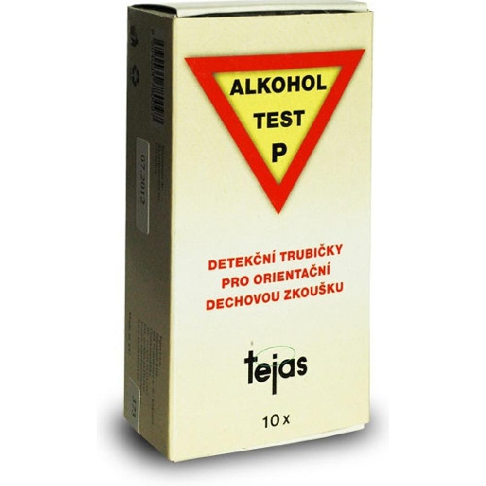 TEJAS Alkoholtest P detekční trubičky 10 kusů