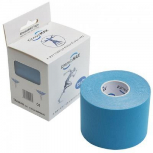 Tejp KinesioMAX 4WAY Stretch Kinesiol modrá 5 cmx 5m