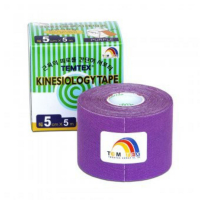TEMTEX Kinesio tape fialová 5 cm x 5 m