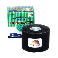 TEMTEX Tejpovací páska Tourmaline černá 5cm x 5m