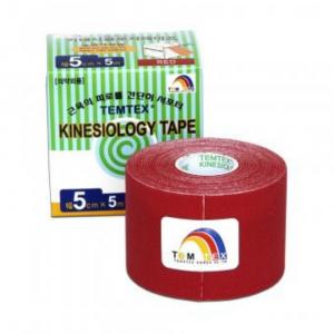 TEMTEX Tejpovací páska Tourmaline červená 5cm x 5m