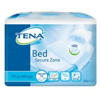 TENA Bed plus wings ochranná podložka 180 x 80 cm 20 ks