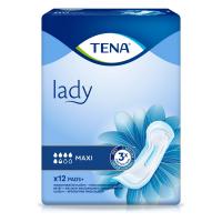 TENA Lady maxi absorpční vložky 5,5 kapek 12 ks