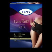 TENA Lady Pants Plus Noir natahovací kalhotky vel.L 8 ks