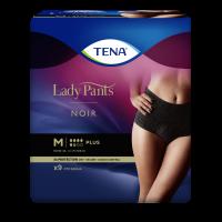 TENA Lady Pants Plus Noir natahovací kalhotky vel.M 9 ks