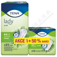 TENA Lady Slim Mini inkontinenční vložky 2 kapky 20 kusů +50% navíc 760293