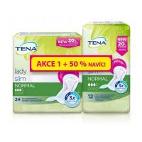 TENA Lady slim normal inkontinenční vložky 3 kapky 36 kusů