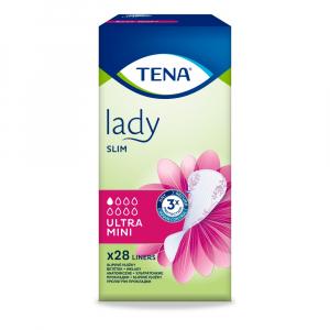 TENA Lady Slim Ultra Mini Plus inkontinenční vložky 24 kusů 761834