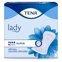 TENA Lady super absorpční vložky 5 kapek 30 kusů