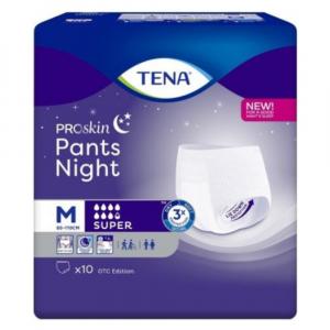 TENA Pants night super medium inkontinenční kalhotky 793572 10 kusů
