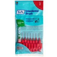 TEPE Mezizubní kartáčky červené 0,5 mm 8 kusů