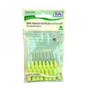 TEPE Mezizubní kartáčky extra soft 0,8 mm 8 ks