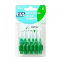TEPE Mezizubní kartáčky ORIGINAL zelené 0,8 mm 6 ks