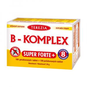 TEREZIA B-Komplex Super Forte + 100 tablet