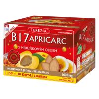 TEREZIA B17 Apricarc s meruňkovým olejem 150 + 30 kapslí